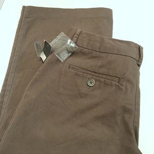 NWT Merona Khaki Brown women's Pants Size - 4